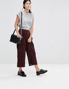 Укороченные брюки Gestuz Ynez - Красный