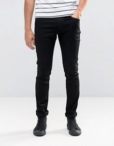 Черные стретчевые джинсы скинни Replay Jondrill - Черный