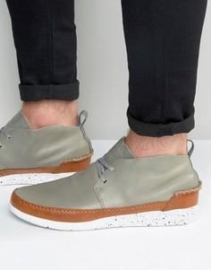 Кожаные кроссовки Boxfresh Statley - Серый