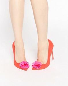 Туфли на высоком каблуке с острым носом ASOS PLAYER - Красный