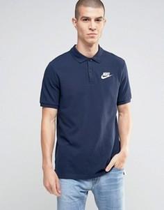 Синее поло Nike Matchup 829360-451 - Синий