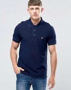 Темно-синяя футболка‑поло Lyle & Scott - Темно-синий