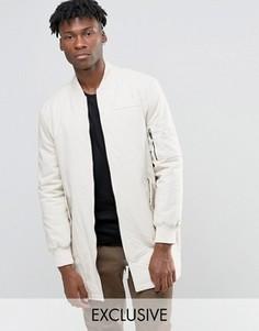 Удлиненная куртка‑пилот The New County - Stone