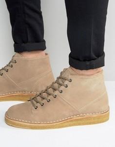 Замшевые ботинки на креповой подошве Paul Smith Errol - Рыжий