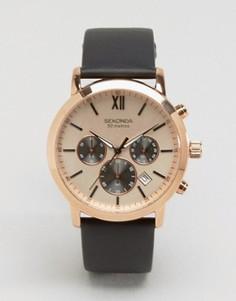 Часы с золотистым циферблатом Sekonda эксклюзивно для ASOS - Коричневый