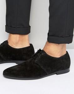 Замшевые туфли дерби BOSS By Hugo Boss Paris - Черный