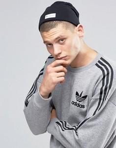 Черная шапка-бини adidas Originals AY8667 - Черный