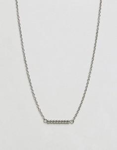 Ожерелье Pieces - Серебряный