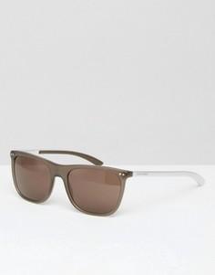 Солнцезащитные очки в стиле ретро Giorgio Armani - Золотой