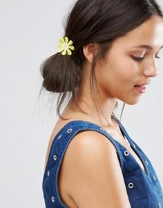 Заколки для волос с цветком кроше Suzywan - Мульти