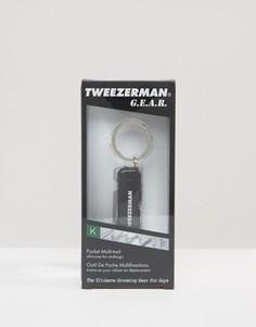Брелок с набором инструментов Tweezerman - Серебряный