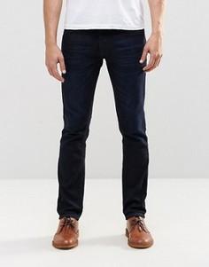 Темно-синие джинсы слим Nudie GrimTim - Синий