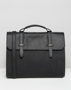 Серый портфель ASOS - Серый