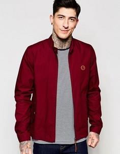Бордовая куртка Харрингтон Pretty Green - Красный
