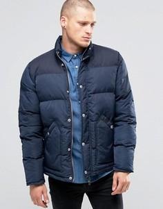 Стеганая куртка Fat Moose Canada - Темно-синий