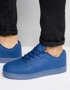 Низкие кроссовки с подсветками LED Wize & Ope - Синий
