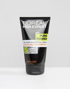 Средство для глубокого очищения кожи LOreal Paris Men Expert Pure Power - 150 мл - Мульти