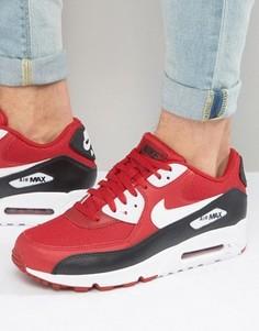 Красные кроссовки Nike Air Max 90 Essential 537384-610 - Красный