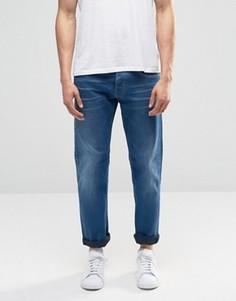 Джинсовые шорты слим Replay Ronas Thermo - Синий
