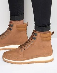 Кожаные ботинки Boxfresh Loadha - Коричневый