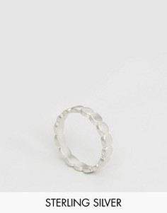 Серебряное широкое кольцо Dogeared - Серебряный