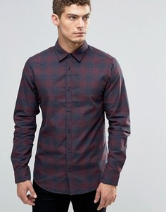 Рубашка в клетку Jack & Jones - Красный