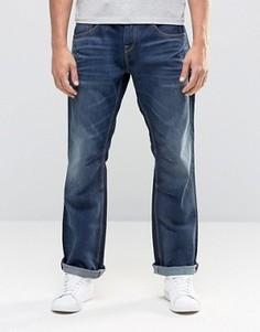 Темно-синие выбеленные джинсы свободного кроя Jack & Jones - Черный