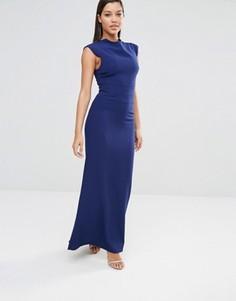 Платье макси AQ/AQ Vapid - Темно-синий
