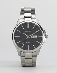 Серебристые часы-браслет Sekonda - Серебряный
