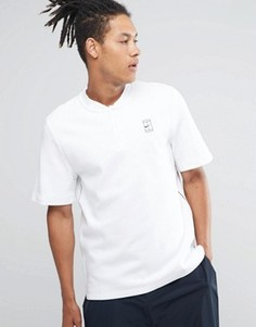 Белая футболка-поло Nike Court 810147-100 - Белый