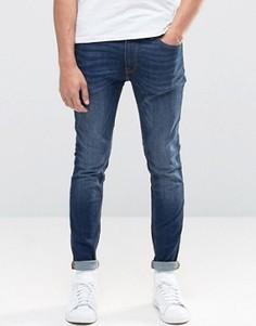 Синие джинсы скинни Jack & Jones Intelligence - Черный