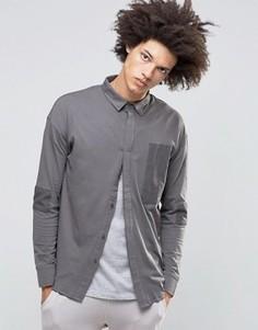 Рубашка Systvm Cain - Серый