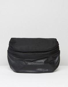 Складывающийся в сумку‑кошелек рюкзак ASOS - Черный