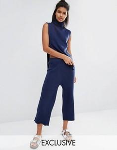 Трикотажная юбка-шорты Micha Lounge - Темно-синий