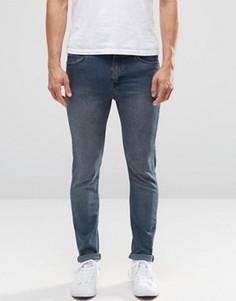 Синие зауженные джинсы Cheap Monday - Синий