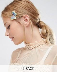 3 заколки для волос ASOS - Мульти