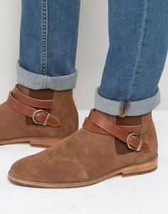 Замшевые ботинки с пряжками Bobbies Le Melomane - Рыжий