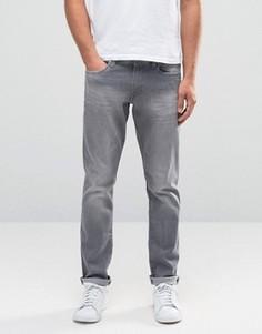 Серые джинсы слим Esprit - Серый
