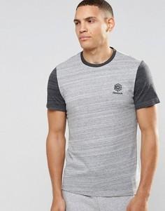 Серая футболка Reebok Classic Starcreft AY1172 - Серый