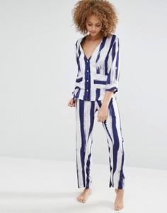 Пижамный комплект со штанами и рубашкой ASOS - Мульти