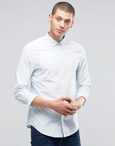 Рубашка узкого кроя в полоску Original Penguin - Синий