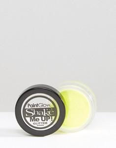 Шейкер с флуоресцентными блестками PaintGlow Shake Me Up - Зеленый Beauty Extras