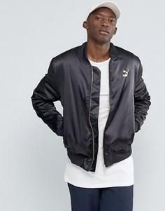 Черная куртка‑пилот Puma Luxe - Черный