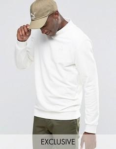 Свитшот с высокой горловиной и вышитым логотипом Puma эксклюзивно для ASOS - Белый
