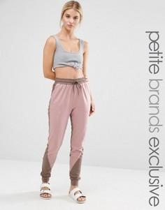 Спортивные штаны с контрастной вставкой One Day Petite - Мульти