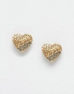 Серьги-гвоздики Juicy Couture - Золотой