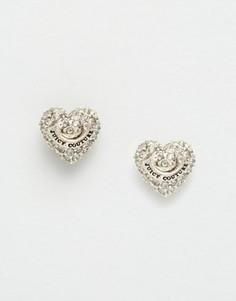 Серьги-кольца с форме сердечек Juicy Couture - Золотой