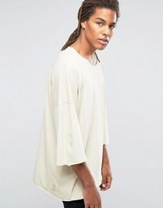 Oversize-футболка с заниженной линией плеч Granted - Stone