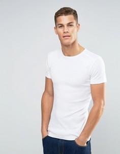 Узкая футболка Esprit - Белый