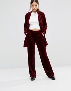 Прямые брюки Gestuz Charlie - Красный
